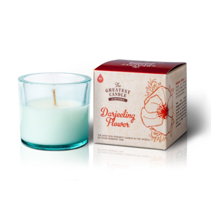 The Greatest Candle Vonná svíčka ve skle (75 g) - květ darjeelingu