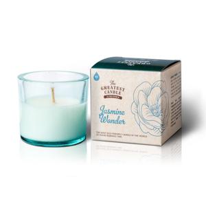 The Greatest Candle Vonná svíčka ve skle (75 g) - jasmínový zázrak
