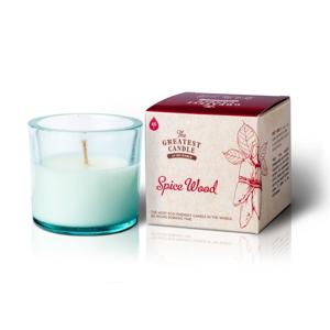 The Greatest Candle Vonná svíčka ve skle (75 g) - dřevo a koření