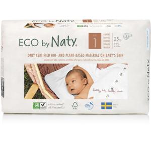 Naty Ekoplenky pro novorozence 1 (2 - 5 kg) (25 ks) z 55-60 % rozložitelné