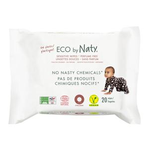 Naty Dětské vlhčené hygienické ubrousky (20 ks) vhodné i pro velmi citlivou pokožku