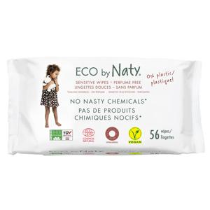 Naty Dětské vlhčené hygienické ubrousky (56 ks) vhodné i pro velmi citlivou pokožku