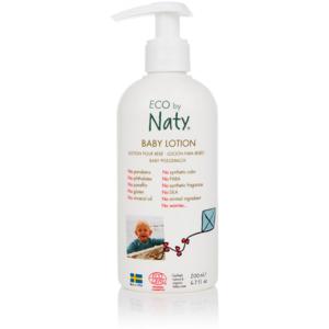 Naty Dětské tělové mléko BIO (200 ml) s bio aloe vera a olivovým olejem