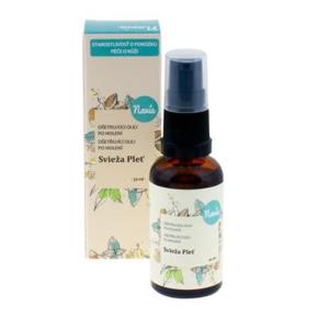 Navia Uklidňující olej po holení Svěží pleť BIO (30 ml) se svěží bylinkovou vůní