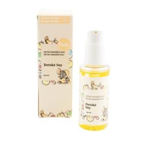 Navia Masážní olej po koupání Dětské sny BIO (50 ml) pro klidné dětské sny