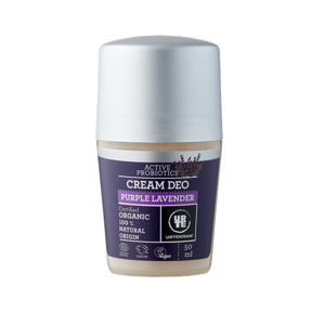 Urtekram Krémový deodorant roll-on - levandule BIO (50 ml)