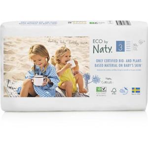Naty Ekoplenky Midi 3 (4 - 9 kg) Economy pack (50 ks) z 55-60 % rozložitelné