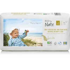 Naty Ekoplenky Maxi 4 (7 - 18 kg) Economy pack (44 ks) z 55-60 % rozložitelné