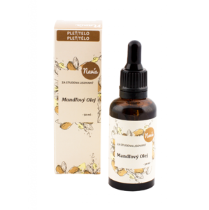 Navia Mandlový olej (50 ml) za studena lisovaný