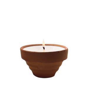 The Greatest Candle Vonná svíčka Terracotta (75 g)  - citronela