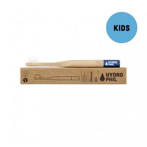 Hydrophil Bambusový kartáček pro děti (soft) - modrý 100% z obnovitelných zdrojů