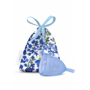LadyCup Menstruační kalíšek - modrý - velký (L)
