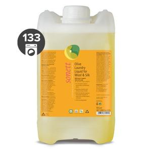 Sonett Olivový prací gel na vlnu a hedvábí (10 l) s levandulovým éterickým olejem
