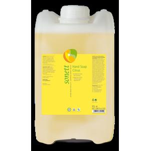 Sonett Tekuté mýdlo - citrus BIO (10 l) pro vaše ruce, obličej i celé tělo