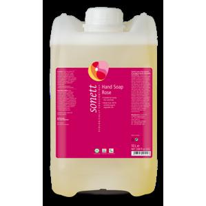 Sonett Tekuté mýdlo - růže BIO (10 l) pro vaše ruce, obličej i celé tělo