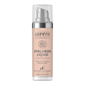 Lavera Lehký tekutý make-up s kyselinou hyaluronovou (30 ml) - slonová kost