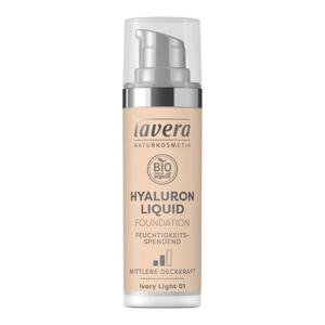 Lavera Lehký tekutý make-up s kyselinou hyaluronovou (30 ml) - porcelánová
