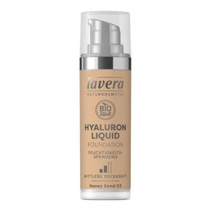 Lavera Lehký tekutý make-up s kyselinou hyaluronovou (30 ml) - medová