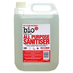 Bio-D Univerzální čistič s dezinfekcí (5 l) s pomerančovým olejem