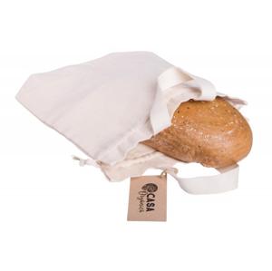 Casa Organica Taška na chleba z biobavlny, s utahovací šňůrkou