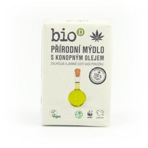 Bio-D Mýdlo s konopným olejem (95 g) ručně vyráběné, v bio kvalitě