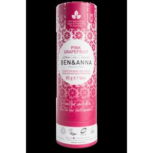 Ben & Anna Tuhý deodorant (60 g) - Růžový grapefruit s příjemnou ovocnou vůní