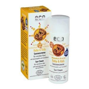 Eco Cosmetics Baby Dětský opalovací krém SPF 45 BIO (50 ml) - AKCE
