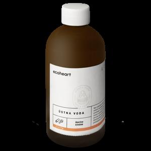 Ecoheart Ústní voda Hřebíček a skořice (300 ml) ve skleněné lahvi
