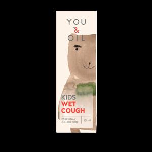 You & Oil KIDS Bioaktivní směs pro děti - Vlhký kašel (10 ml) uleví od nepříjemného kašle