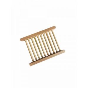 laSaponaria Dřevěná podložka pod mýdlo z udržitelného dřeva