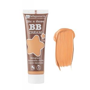 """laSaponaria BB krém """"Jako sen"""" BIO - zlatý (30 ml) lehké krytí s matným finišem"""
