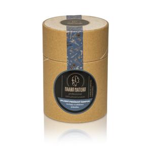 Haaro Naturo Práškový šampon proti lupům (150 g) z mydlice, lopuchu a kostivalu
