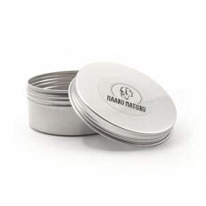 Haaro Naturo Hliníková krabička na 100 g šampon k uchování a převážení šamponu