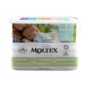 Moltex Ekoplenky Pure & Nature - pro novorozence (2-4 kg) (22 ks)