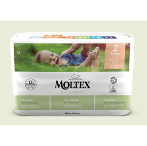 Moltex Ekoplenky Pure & Nature - Mini (3-6 kg) (38 ks)