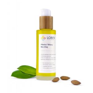 Lobey Pěsticí tělový olej BIO (100 ml) vhodný i k masáži strií, hráze či prsou