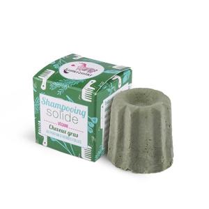 Lamazuna Tuhý šampon pro mastné vlasy - divoká tráva (55 g) šetří přírodu i peněženku