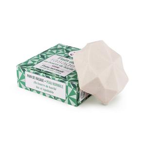 Lamazuna Tuhé mýdlo na holení pro normální pokožku - zelený čaj a citrón (55 g) pro dámy i pro pány