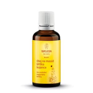 Weleda Kojenecký masážní olej na bolavé bříško (50 ml) podporuje trávení