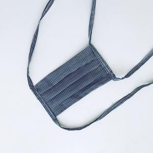 Meera Design Dětská ochranná rouška ze 100% bavlny - proužkatec (1 ks) pomáhá lokálním švadlenám