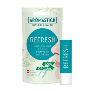 Aromastick Přírodní inhalační tyčinka - Svěžest 100% bio esenciální oleje