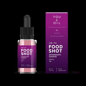 You & Oil FOOD SHOT Antioxidanty - s třešní a fíkem (30 ml)
