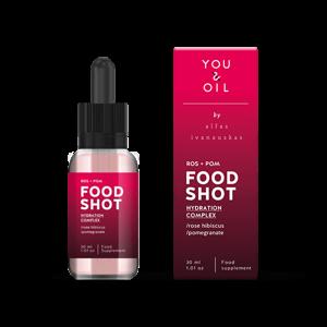 You & Oil FOOD SHOT Hydratace - s ibiškem a granátovým jablkem (30 ml)