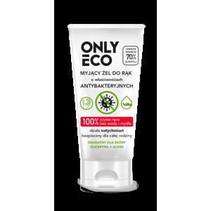 OnlyEco Gel na ruce s antibakteriálními účinky (50 ml) z 98 % přírodní