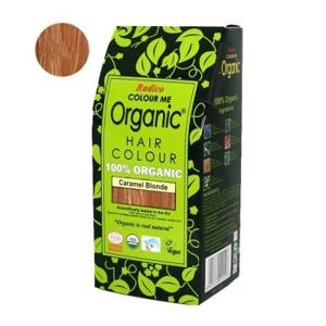 Radico Přírodní barva na vlasy BIO (100 g) - karamelová - AKCE sleva za lehce poškozený obal