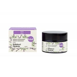 Kvitok Jemný krémový deodorant Bylinkové opojení (30 ml) vhodný pro ženy i muže