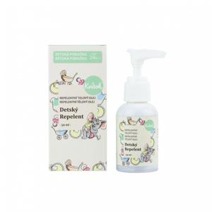 Kvitok Dětský repelentní olej (50 ml) ideální pro děti od 2 let