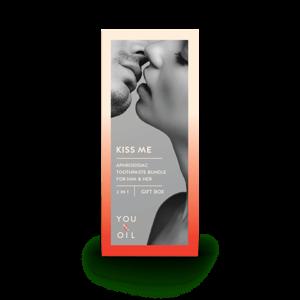 You & Oil Sada afrodiziakálních zubních past - Pro něj a Pro ni (2x70 g)