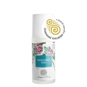Nobilis Tilia Deodorant roll-on - růže (50 ml) s unikátním pozvolným účinkem