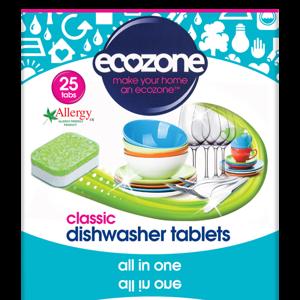 Ecozone Tablety do myčky Classic - vše v jednom (25 ks)
